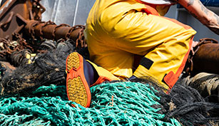 ropa pesca profesional botas