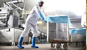 Evaluación botas de trabajo industria alimentaria