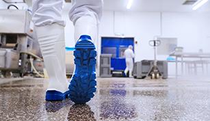 Comparación botas de caucho industria alimentaria